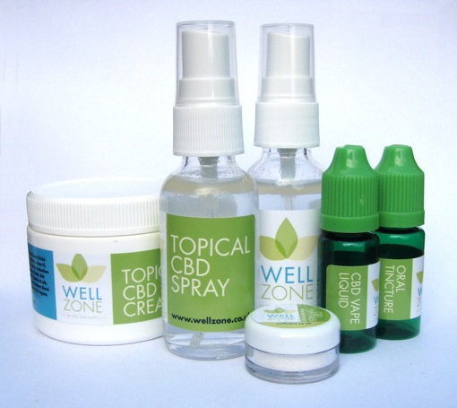 wellzone CBD products