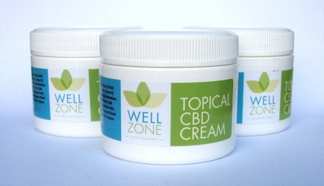 wellzone topical CBD cream