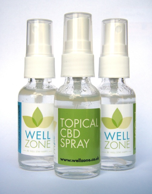 well zone topical CBD spray